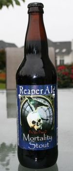Mortality Stout - ReaperAle Brewing Company