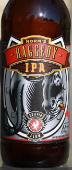 Norm's Raggedy Ass IPA - Griffin Claw Brewing Company