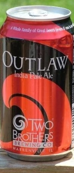 Outlaw IPA - Two Brothers Brewing Company