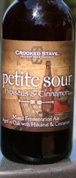 Petite Sour - Hibiscus & Cinnamon - Crooked Stave Artisan Beer Project