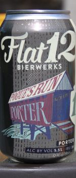 Pogue's Run Porter - Flat 12 Bierwerks