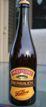 Provisions Series - Bierbauch - The Bruery