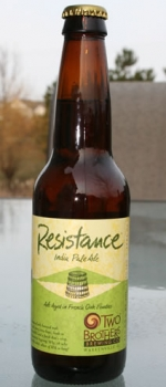 Resistance IPA - Two Brothers Brewing Company