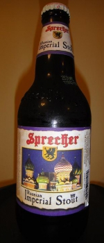 Russian Imperial Stout - Sprecher Brewing Company