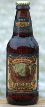 Ruthless Rye IPA - Sierra Nevada Brewing Co.