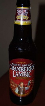 Samuel Adams Cranberry Lambic - Boston Beer Company