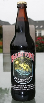 Sea Monster Imperial Stout - Ballast Point Brewing Company
