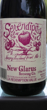 Serendipity - New Glarus Brewing Company
