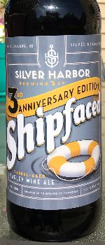 Shipfaced - Bourbon Barrel Aged - Silver Harbor Brewing Company