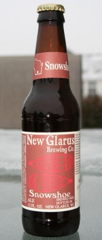Snowshoe Red Ale - New Glarus Brewing Company