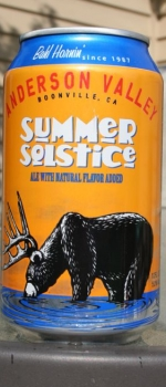 Summer Soltice - Anderson Valley Brewing Company