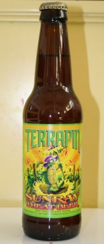 SunRay Wheat Beer - Terrapin Brewing Company