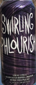 Swirling Phlourish - Hop Butcher For The World