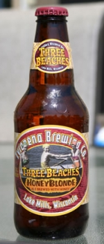 Three Beaches Honey Blonde - Tyranena Brewing Company