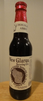 Thumb Print Chocolate Abbey - New Glarus Brewing Company