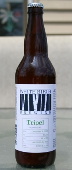 Tripel - White Birch Brewing