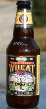 Unfiltered Wheat Beer - Boulevard Brewing Company