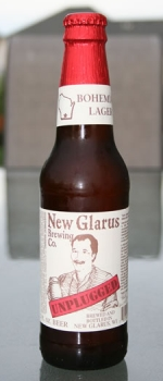 Unplugged Bohemian Lager - New Glarus Brewing Company