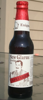 Unplugged Enigma - New Glarus Brewing Company
