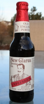 Unplugged Old English Porter - New Glarus Brewing Company