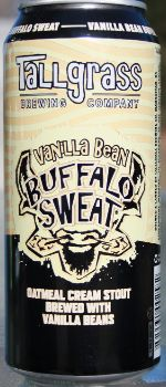 Vanilla Bean Buffalo Sweat - Tallgrass Brewing Company