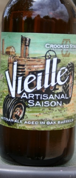 Vieille Artisanal Saison - Crooked Stave Artisan Beer Project