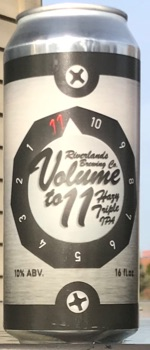 Volume To 11 - Riverlands Brewing Company