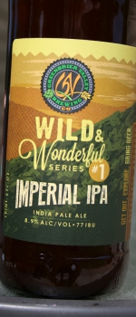 Wild & Wonderful #1 - Imperial IPA - Greenbrier Valley Brewing